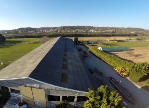 DRONE I2N vol hangar ferme du Terray Dagneux